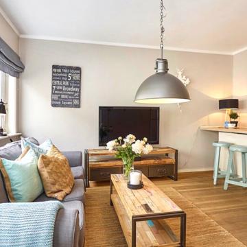 Como decorar o seu apartamento em estilo rústico