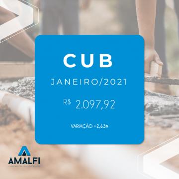 CUB Janeiro de 2021