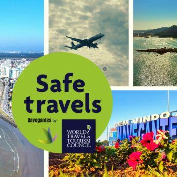 Navegantes recebe selo internacional de destino turístico seguro